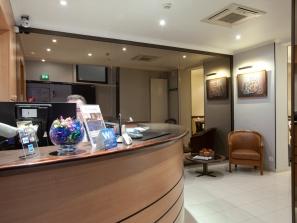 Hotel Avia:Reception